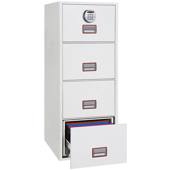Phoenix World Class Vertical Fire File FS2274E Electronic Locking Filing Cabinet