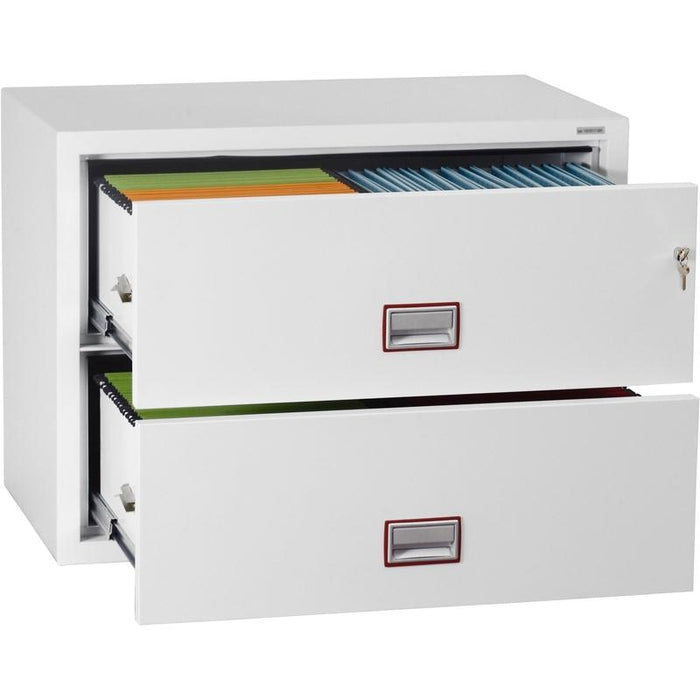 Phoenix World Class Lateral Fire File FS2412K Key Locking Filing Cabinet