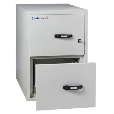 "Chubbsafes Fire File 2hr  2drw 31"" Key Locking Filing Cabinet"