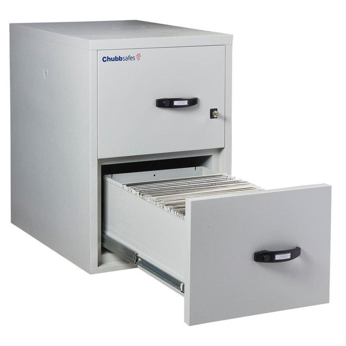 Chubbsafes Fire File 120 - 2 Drawer Key Locking Filing Cabinet