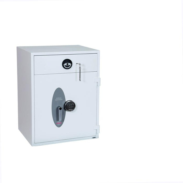 An image of Phoenix Diamond Deposit HS1092ED Electronic Locking Deposit Safe