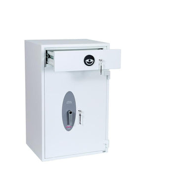 Phoenix Diamond Deposit HS1093KD Key Locking Deposit Safe