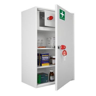 Securikey Medical Cabinet 3 Key Locking Cabinet