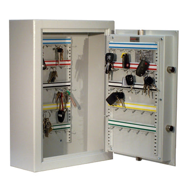 Securikey High Security Deep 50 Key Locking Key Cabinet