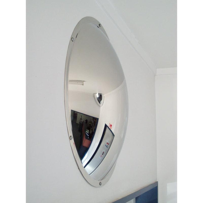 Securikey Stainless Steel Wall Dome Mirror M16505W - 500mm