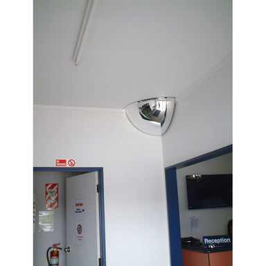 Securikey Convex Quarter Face Mirror - M18562H - 450 x 450