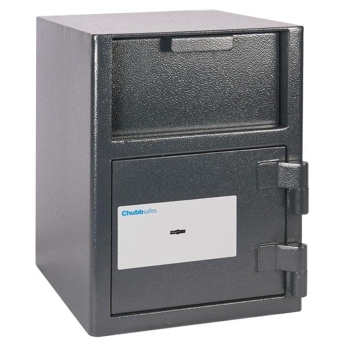 Chubbsafes Omega Deposit Size 1K Key Locking Deposit Safe with door closed