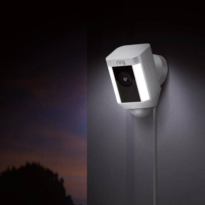 Ring Spotlight Cam Wired - White