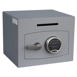Securikey Mini Vault Deposit Silver 1 Electronic Locking Deposit Safe
