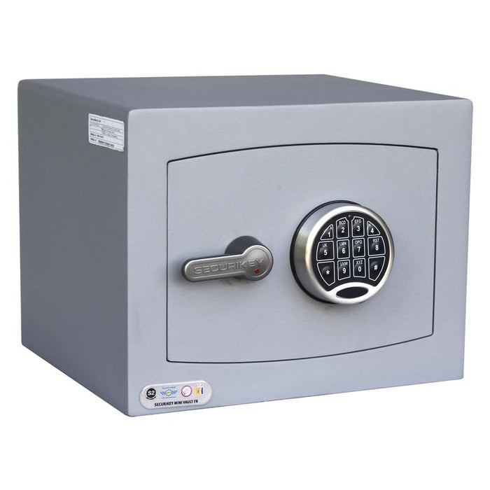 An image of Securikey Mini Vault Gold 1 FR E Electronic Locking Safe