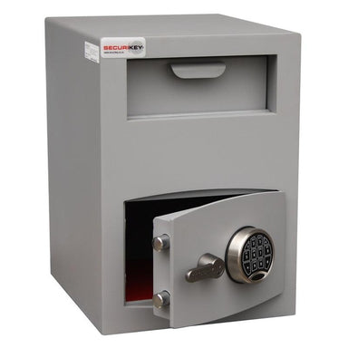 Securikey Mini Vault Deposit Silver 2 Electronic Locking Deposit Safe