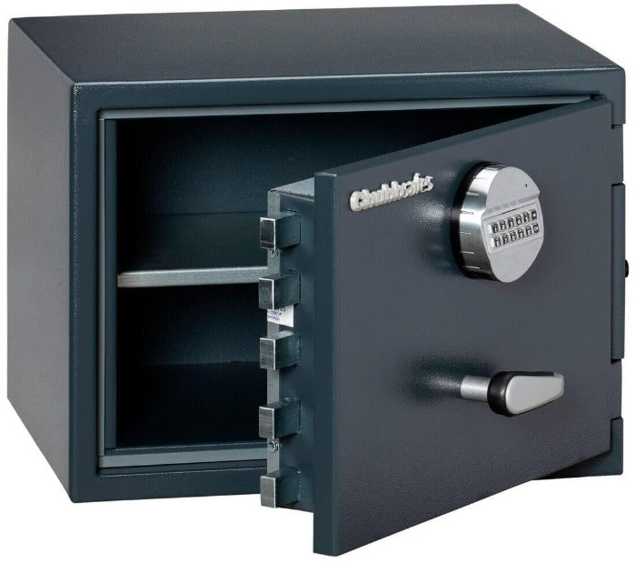 Chubbsafes Senator Grade 0 M1E Electronic Locking Safe with door open partly