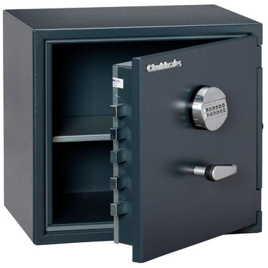 Chubbsafes Senator Grade 0 M2E Electronic Locking Safe with door open partly