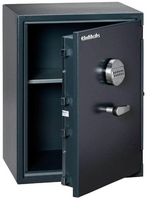 Chubbsafes Senator Grade 0 M3E Electronic Locking Safe with door open partly