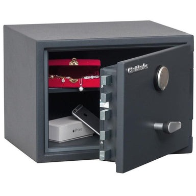 Chubbsafes Senator Grade 0 M1K Key Locking Safe with door open partly