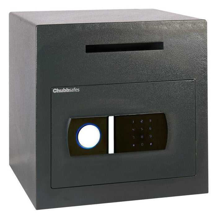 Chubbsafes Sigma Deposit Size 2E Electronic Locking Deposit Safe with door closed