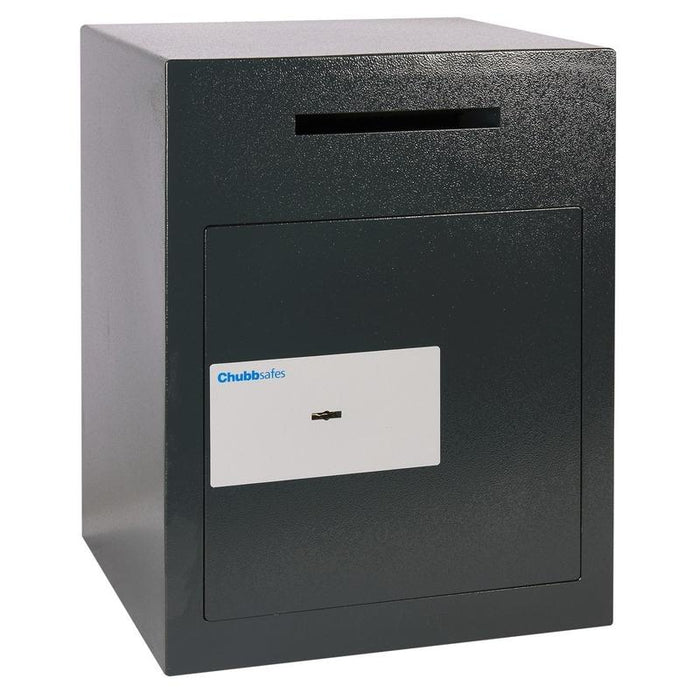 Chubbsafes Sigma Deposit Size 3 K Key Locking Deposit Safe with door closed