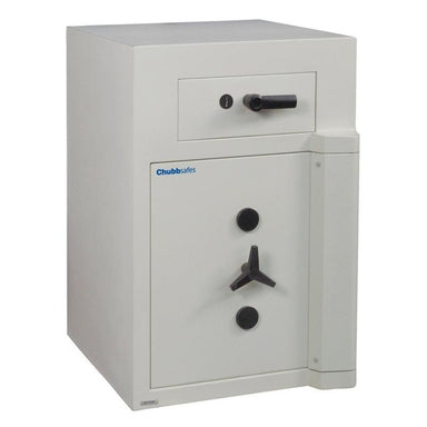 Chubbsafes Europa Grade 5 Size 2 key locking deposit safe with drawer deposit