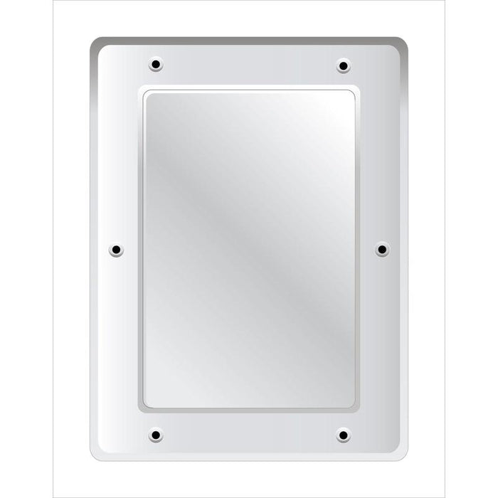 Securikey Stainless Steel Vanity Mirror - Anti-vandal 400 x 300 mm - M16243