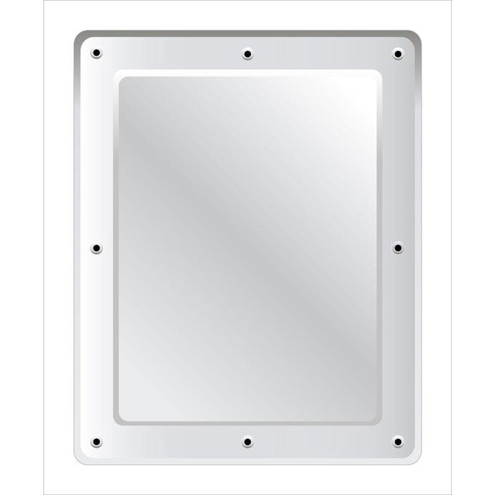 Securikey Stainless Steel Vanity Mirror - Anti-vandal 500 x 400mm - M16254