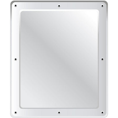 Securikey Flat Stainless Steel Vanity Mirror - Anti-vandal 600 x 500mm - M16265