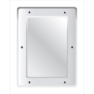 Securikey Flat Polycarbonate Vanity Mirror - Anti-vandal 400 x 300mm - M17234