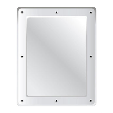 Securikey Flat Polycarbonate Vanity Mirror - Anti-vandal 500 x 400mm - M17254