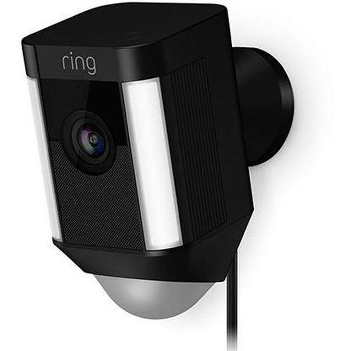 Ring Spotlight Cam Wired - Black