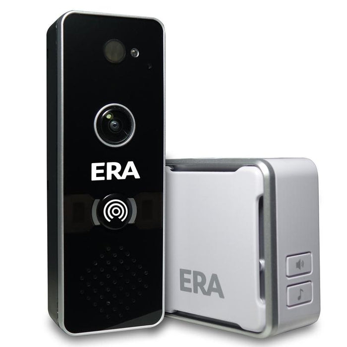 ERA DoorCam - Smart Home WiFi Video Doorbell - Black