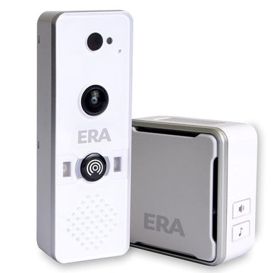 ERA DoorCam - Smart Home WiFi Video Doorbell - White