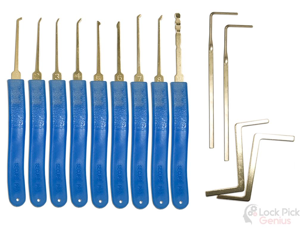 13 Piece Lock Pick Set Lock Pick Set and Protective Case