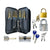 Complete 25 Piece Lock Pick Training Set with 4 Practice Locks