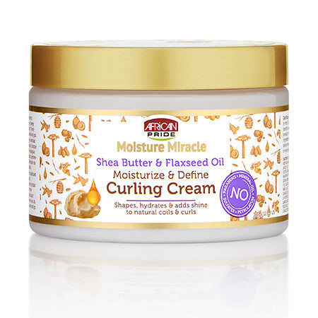 African Pride Moisture Micracle Moisturize and Define Curling Cream