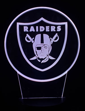 Raiders Plaque