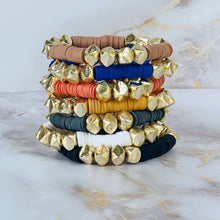 Load image into Gallery viewer, London Lane Golden Nugget Summit Bracelet