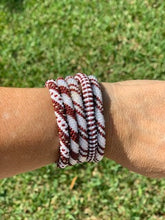 Load image into Gallery viewer, Game Day Beaded Bracelet Set