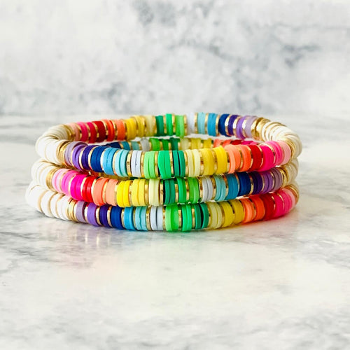 London Lane Mini Rainbow Bracelet