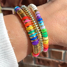 Load image into Gallery viewer, London Lane Day Dream Rainbow Bracelet Stack
