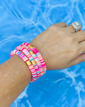 Load image into Gallery viewer, London Lane Summer Crush Heishi Bead Braclet