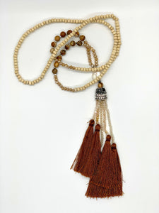 Sultan's Tassel Necklace