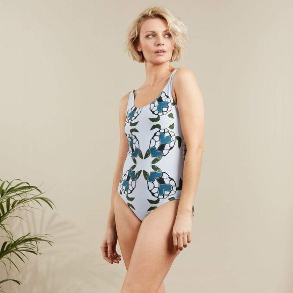 Animal Print Swimsuit - Sea Turtles