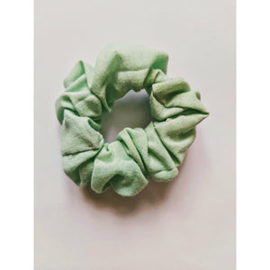 Limited edition golden yellow or mint hair scrunchies