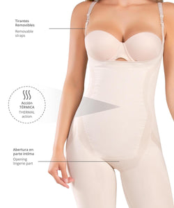 1586 - Enterizo Termico Piernas Firmes Seamless - CYSM Mexico fajas_shapers