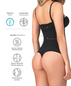 1595 / 1596  - Body Termico Area Abdomen  Panty -Thong - CYSM Mexico fajas_shapers