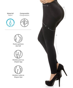 3108 - Leggings Seamless Abdomen Control - CYSM Mexico fajas_shapers