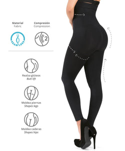 3109  - Leggings Strapless Control Realza Gluteos - CYSM Mexico fajas_shapers