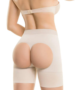 1502 - Short Realza Gluteos Seamless - CYSM Mexico fajas_shapers