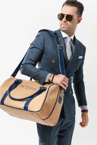 CDS Weekender Men Navy Blue Bag