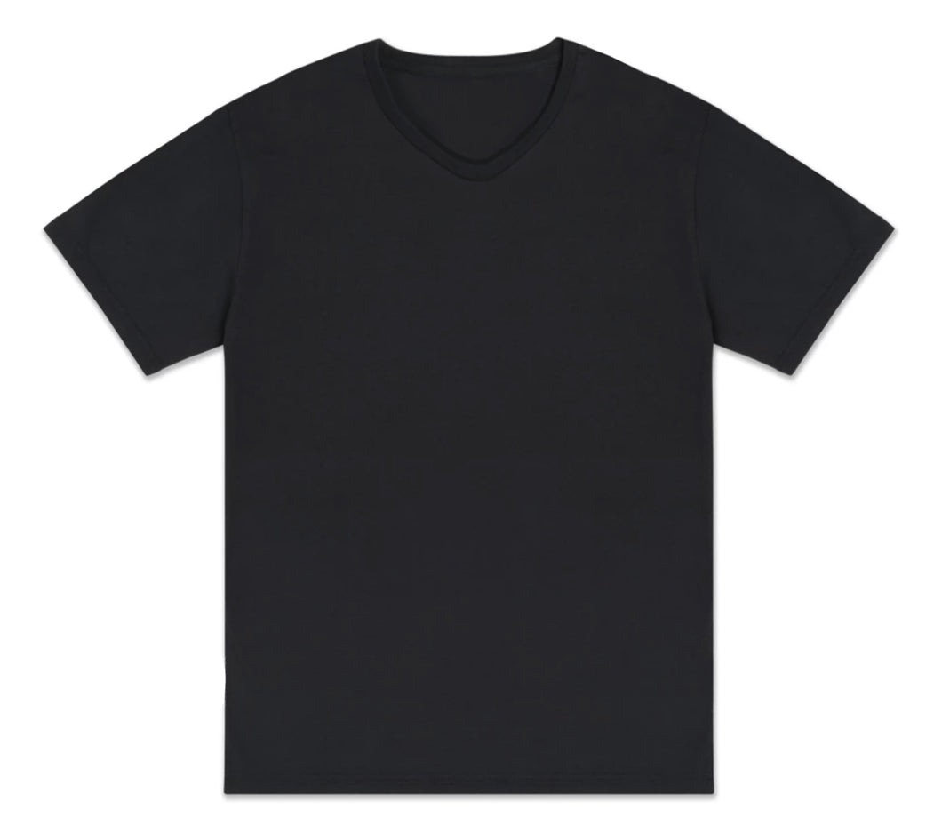 Organic Black Made from Milk Men Tee