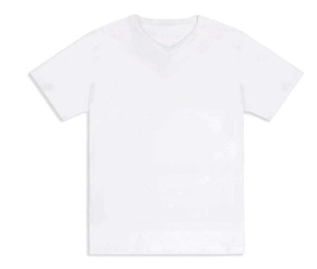 Organic White Made from Milk Men Tee